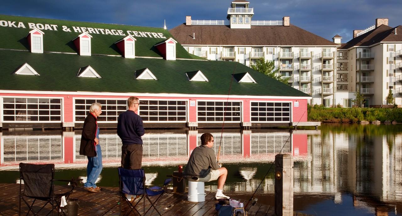 Photo of Muskoka Wharf