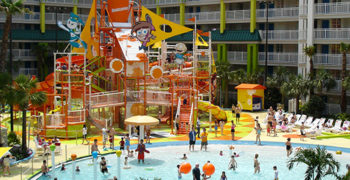 Nickelodeon Family Suites Resort Water Park