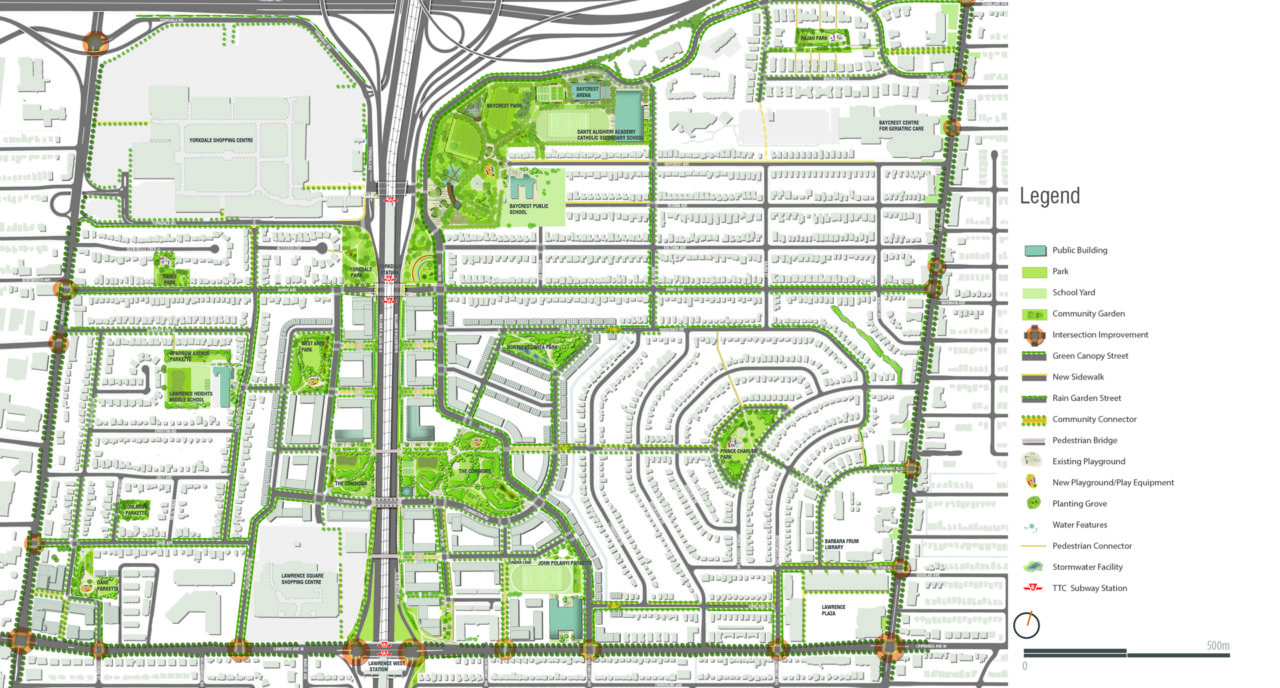 Photo of Lawrence-Allen Public Realm Master Plan