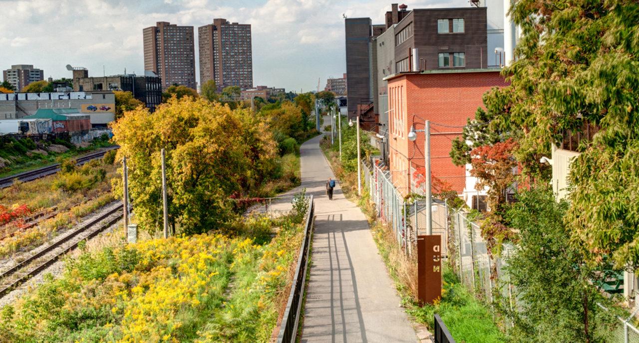 Photo of West Toronto Railpath