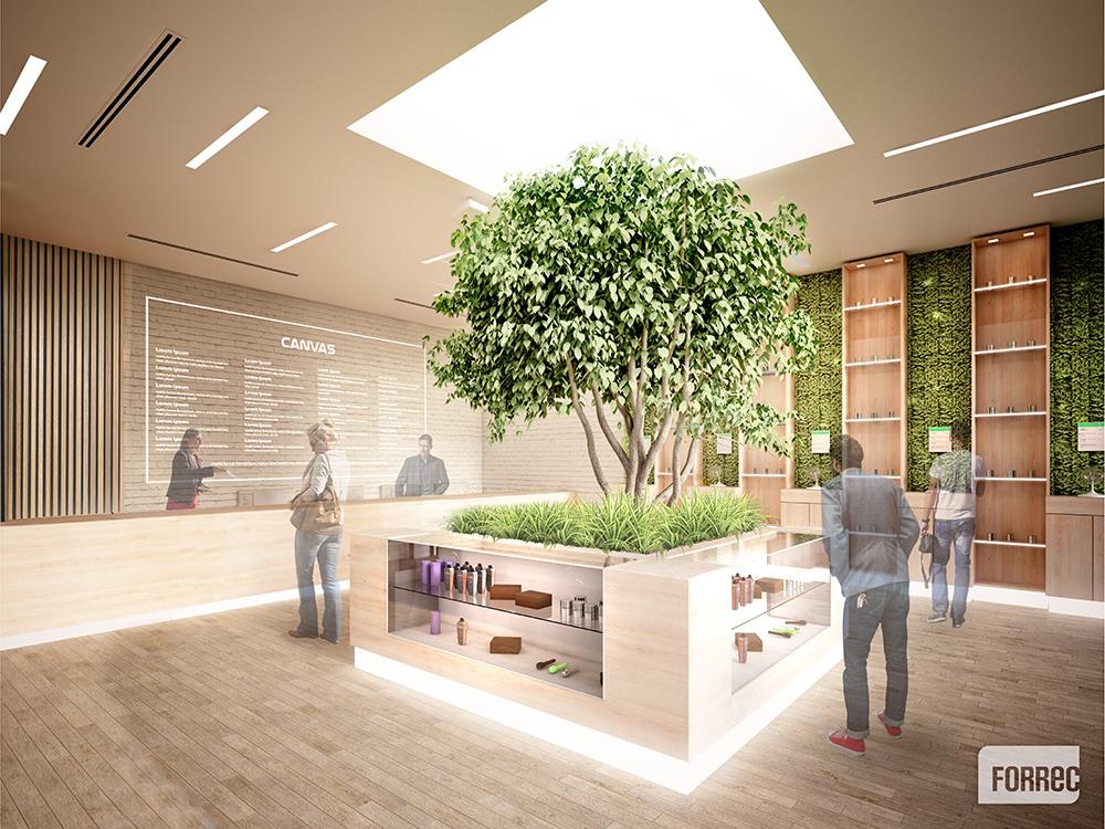 Bringing Sustainable Design Inside Forrec